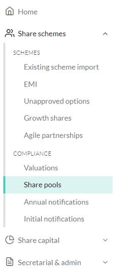 How do I authorise a share pool 1