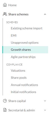 How do I set up a Growth Share scheme 1